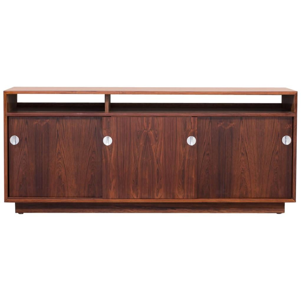 1960s Finn Juhl Rosewood Side, Lowboard from the Diplomat Series for Cado