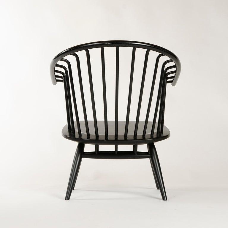 Birch 1960s Finnish Pair of Crinolette Lounge Chairs by Ilmari Tapiovaara for Asko For Sale