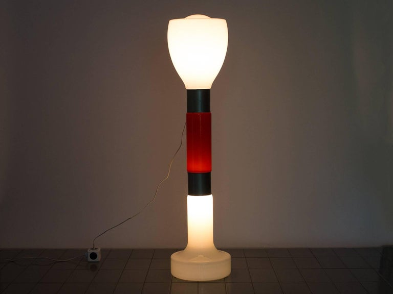 Italian 1960s Floor Lamp in Blown Glass by Carlo Nason for Mazzega, Italy For Sale