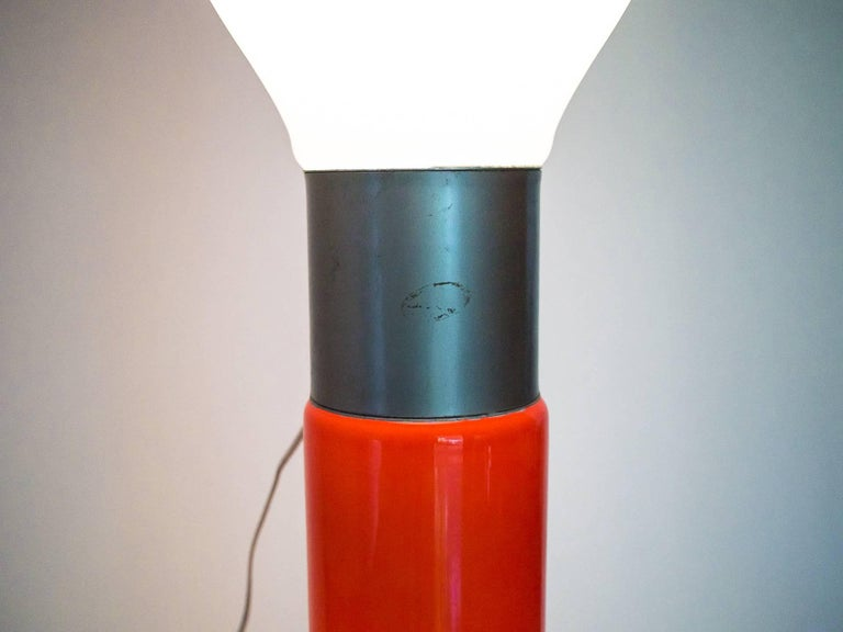 1960s Floor Lamp in Blown Glass by Carlo Nason for Mazzega, Italy For Sale 2