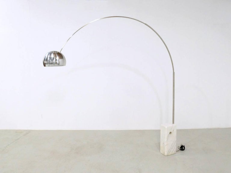 1960s Flos Arco Floor Lamp by Achille and Pier Giacomo Castiglioni ...