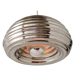 1960s Flos 'Splugen Brau' Aluminium Pendant by Achille Castiglioni, Italia