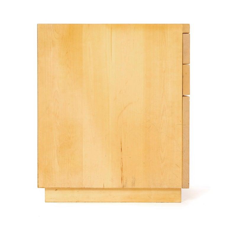 Scandinavian Modern 1960s Four-Drawer Cabinet by Alvar Aalto for Artek For Sale
