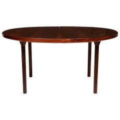 1960s France & Sons Rosewood Dining Table Ole Gjerlov-Knudsen & Torben Lind