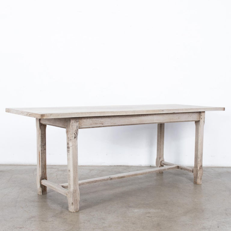 French Provincial 1960s French Farmhouse Dining Table For Sale