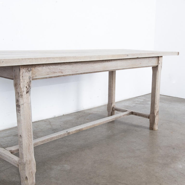 Mid-20th Century 1960s French Farmhouse Dining Table For Sale