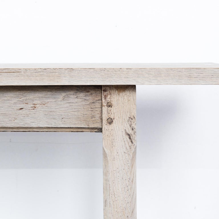 Oak 1960s French Farmhouse Dining Table For Sale