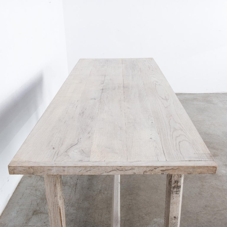 1960s French Farmhouse Dining Table For Sale 3
