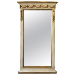 1960s French Style Wood and Gilt Mirror