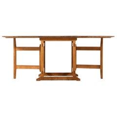 1960s Gateleg Table in Pine Produced in Sweden