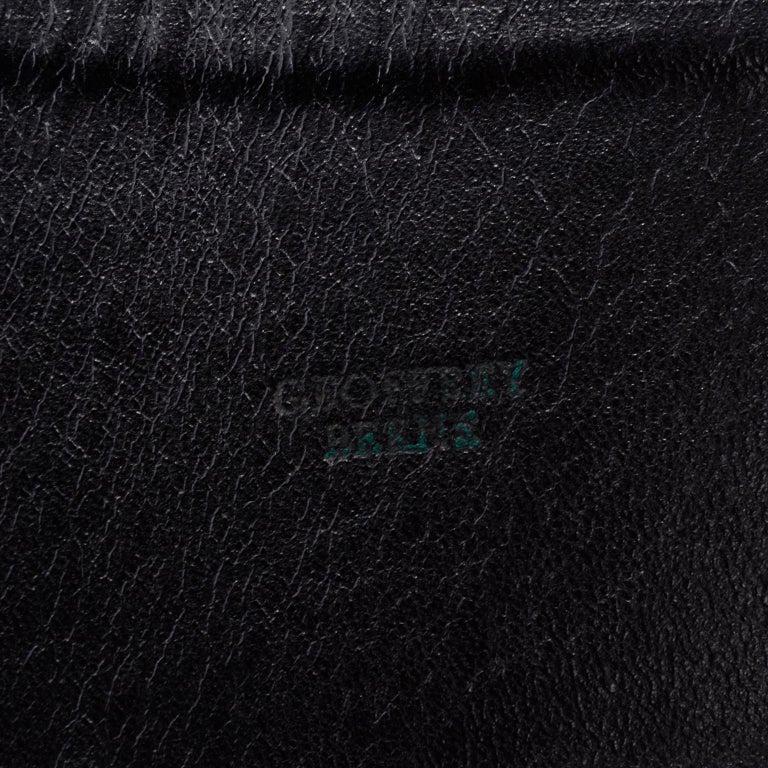 1960s Geoffrey Beene Vintage Black Knit Mini Tent Dress With Wide Belt For Sale 7