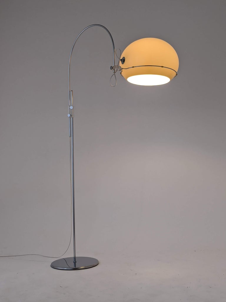 Steel 1960s Gepo Floor Lamp, Holland  For Sale