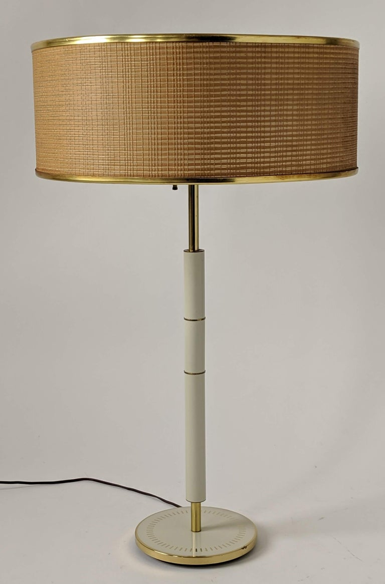 30 in. tall table lamp from Gerald Thurston for Lightolier . 