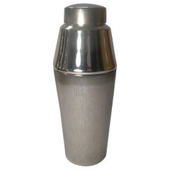 1960's German Silver Plated Cocktail Shaker by Lutz & Weiss