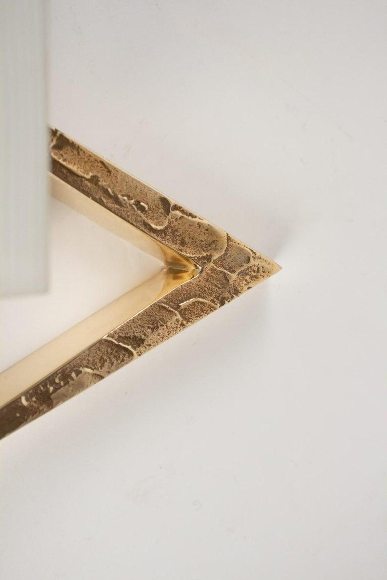 Gilt 1960s Gilded Bronze Arlus Sconces For Sale