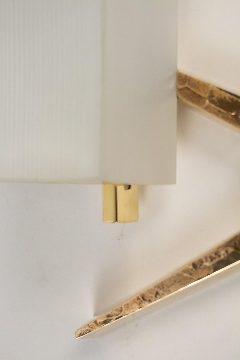 1960s Gilded Bronze Arlus Sconces In Excellent Condition For Sale In Saint-Ouen, FR