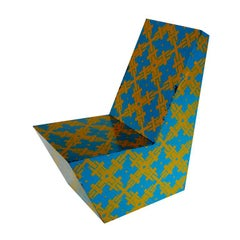 1960's GRAPHIC PRINT CHAIR