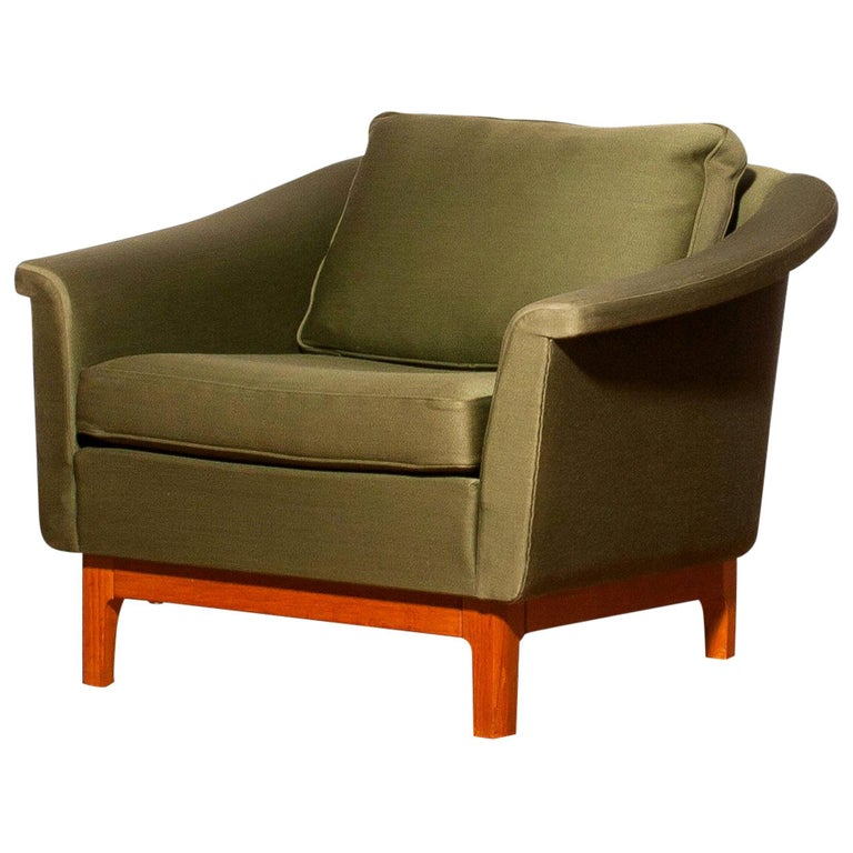 Cool 1960S Green Pasadena Lounge Chair By Folke Ohlsson For Dux Machost Co Dining Chair Design Ideas Machostcouk