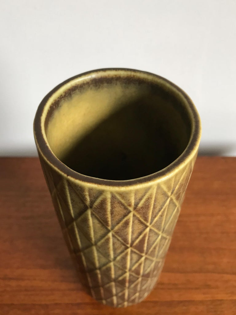 Scandinavian Modern 1960s Gunnar Nylund Scandinavian Midcentury Vase for Rörstrand For Sale
