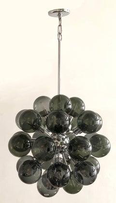1960s Hanging Light Motoko Ishii for Staff Luechten