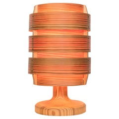 1960s Hans-Agne Jakobsson Wood Table Lamp for AB Ellysett