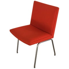 1960s Hans J. Wegner Airport Chair by A.P. Stolen, Inc. Reupholstery