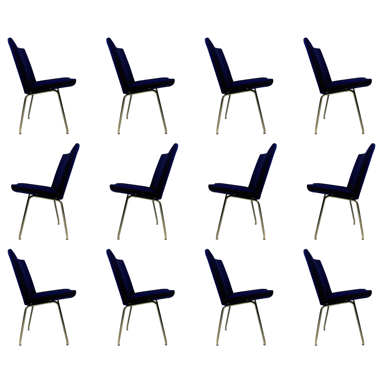 1960s Hans J. Wegner Set of Twelve Airport Lounge Chairs by A.P. Stolen
