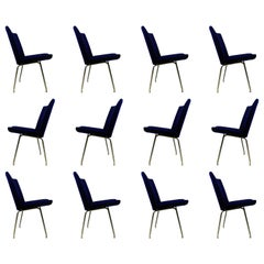 1960s Hans J. Wegner Set of Twelve Airport Lounge Chairs by A.P. Stolen