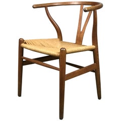 1960s Hans Wegner Wishbone CH24 Dining Chair for Carl Hansen & Sons