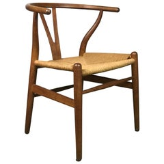 Wishbone Dining Chair by Hans Wegner for Carl Hansen and Sons Model CH24