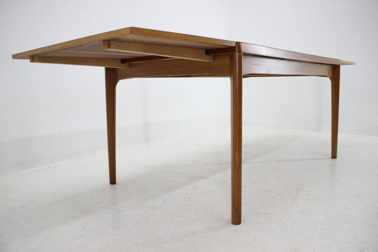 1960s Henning Kjærnulf Danish Oak Extendable Table 6