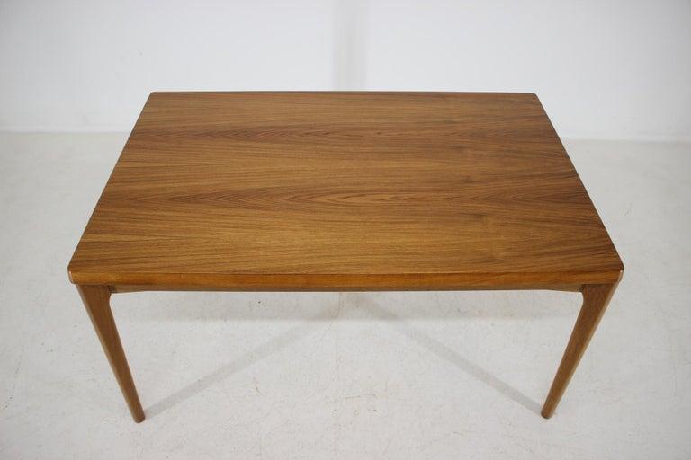 Scandinavian Modern 1960s Henning Kjærnulf Danish Oak Extendable Table