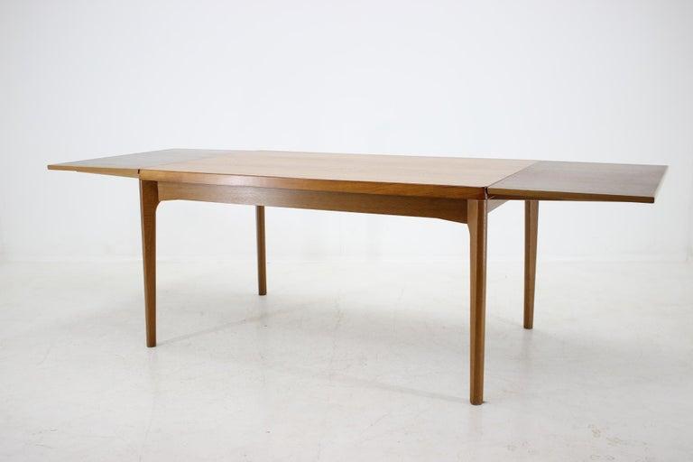 1960s Henning Kjærnulf Danish Oak Extendable Table 1