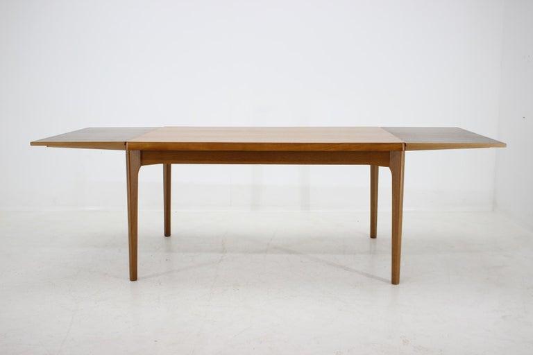 1960s Henning Kjærnulf Danish Oak Extendable Table 4