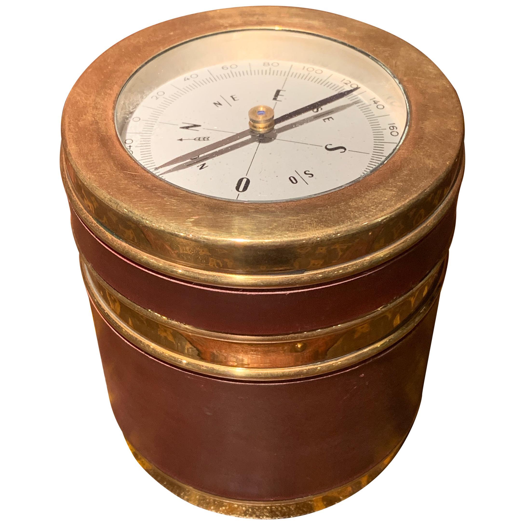 1960s Hermès Compass Cigarette Box