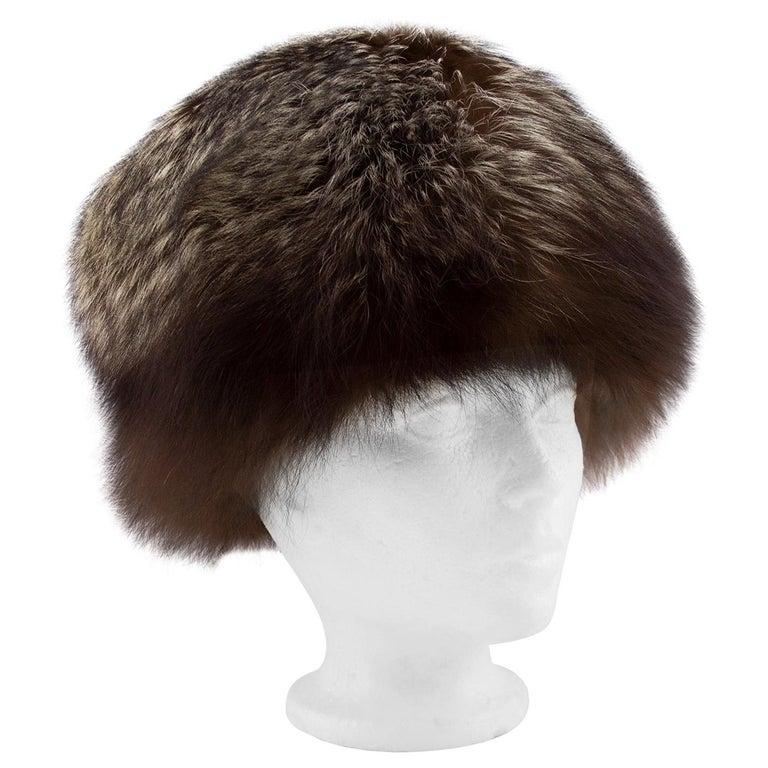 1960's Holt Renfrew Raccoon Hat  For Sale