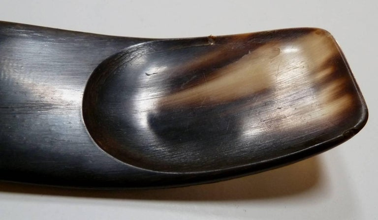 Mid-Century Modern 1960s Horn Serving Utensils by Carl Aubock For Sale