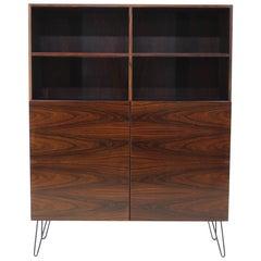 1960s Ib Kofod-Larsen Palisander Bookcase Cabinet Restored