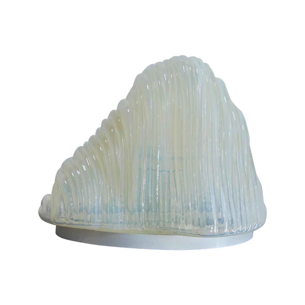 1960s Iceberg Table Lamp by Carlo Nason for Mazzega