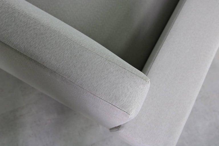 1960s Illum Wikkelso Teak Lounge Sofa Model 50-3 Soren Willadsen Danish Modern 5