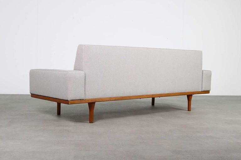 1960s Illum Wikkelso Teak Lounge Sofa Model 50-3 Soren Willadsen Danish Modern 6