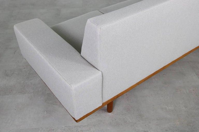 1960s Illum Wikkelso Teak Lounge Sofa Model 50-3 Soren Willadsen Danish Modern 7