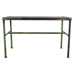 1960s Industrial Czech Work Table