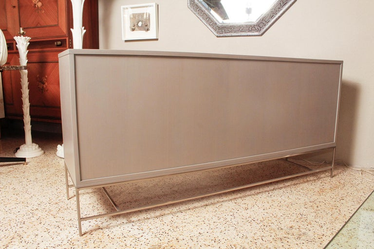 1960s Irwin Collection Grey Mahogany Sideboard by Paul McCobb for Calvin For Sale 6