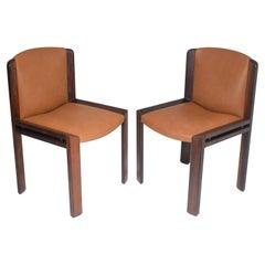 "1960's Italian ""300"" Chairs by Joe Colombo for Pozzi"