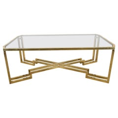 1960s Italian Brass Dining Table