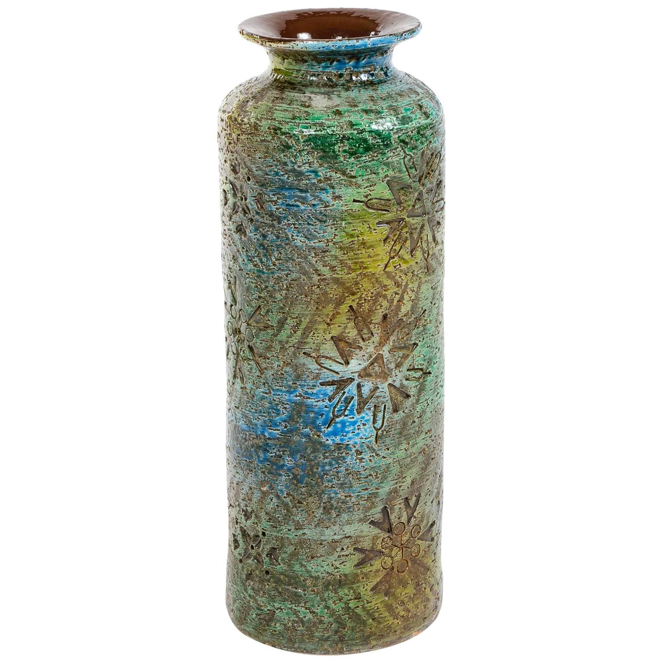 1960s Italian Ceramic Vase