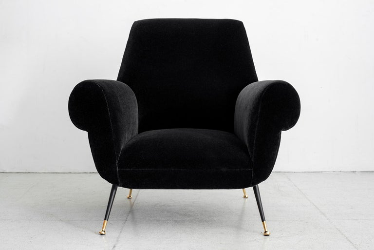 1960s Italian Club Chairs For Sale 2