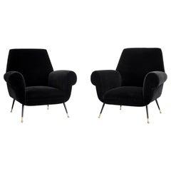 1960s Italian Club Chairs