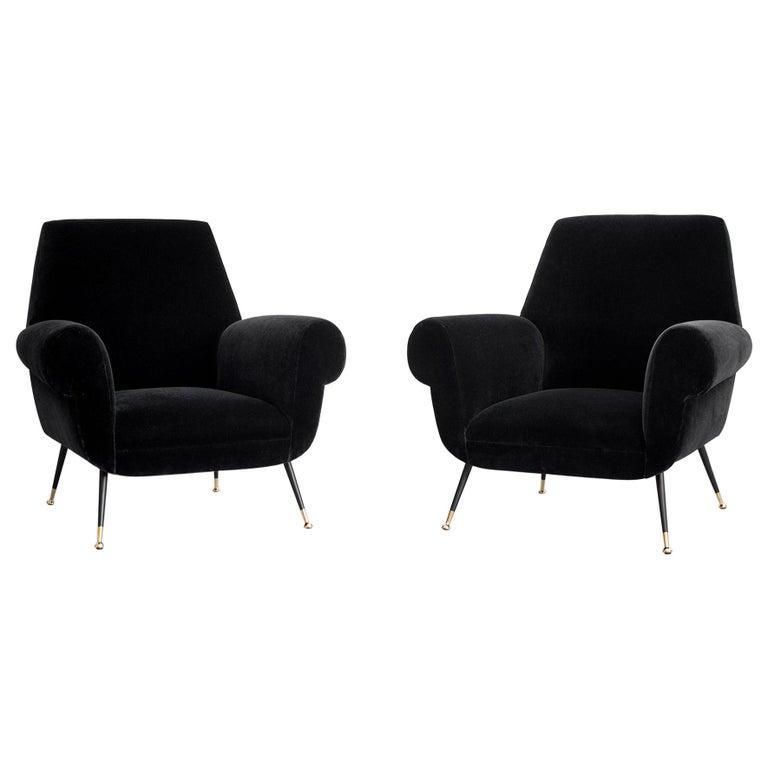 1960s Italian Club Chairs For Sale